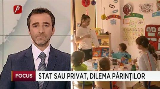 Reportaj Prima TV în Grădinița Bambi