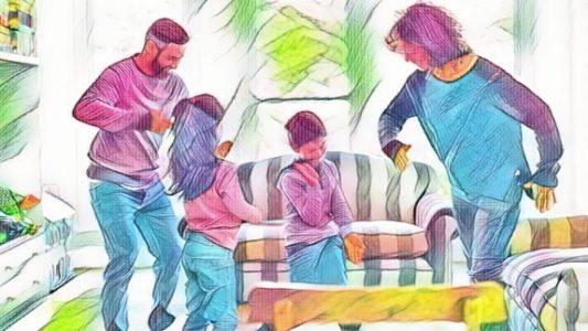 Jocuri și activități pentru copii – ASTĂ SEARĂ DANSĂM ÎN FAMILIE